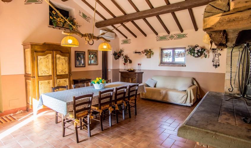 salone - living room Domus Grezza